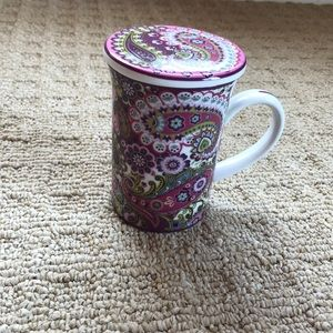 Tea cup with lid